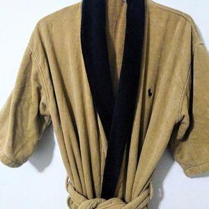 Polo Ralph Lauren Men's Robe Brown XL
